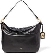 Ralph Lauren Medium Callen Leather Hobo Bag
