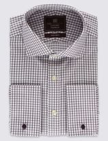 Marks and Spencer Pure Cotton Non-Iron Checked Shirt