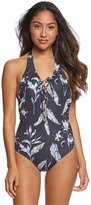 Roxy Printed Strappy Love One Piece Swimsuit 8166079