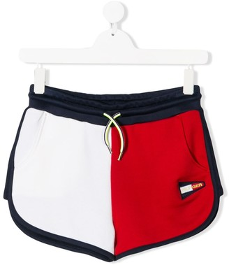 Tommy Hilfiger Junior TEEN colour block casual shorts
