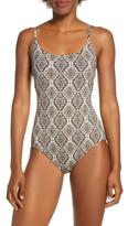Tommy Bahama Desert Python One-Piece Swimsuit