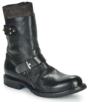 Moma CUSNA NERO women's Mid Boots in Black