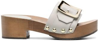 Bally Platform Studded Sandals