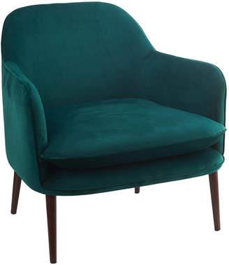 Pols Potten Charmy Velvet Armchair - Green