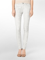 Calvin Klein Ultimate Skinny Animal Print Jeans