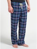 John Lewis Ford Twill Brushed Lounge Pants, Blue