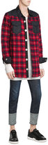 Off-White Off White Quilted Jacket with Wool