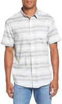 Quiksilver Men's Aventail Stripe Shirt