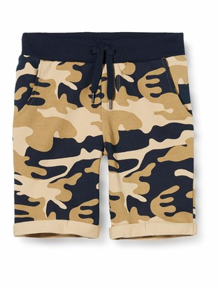 Name It Boy's Nmmvermo AOP SWE Long Shorts Unb H