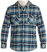 Quiksilver Men's Grouper Hooded Long Sleeve Flannel 8124071
