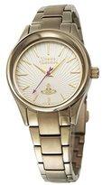 Vivienne Westwood Women's VV111GD Holloway Analog Display Swiss Quartz Gold Watch