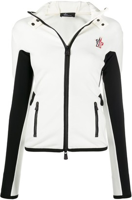 MONCLER GRENOBLE Colour-Block Slim-Fit Jacket