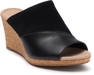Clarks Lafley Wave Wedge Sandal