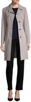 Cinzia Rocca Women's Solid Belted Walker Coat