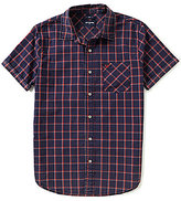 True Religion Window Plaid Short-Sleeve Shirt