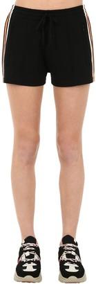 Etoile Isabel Marant Dorset Techno Shorts W/ Side Bands