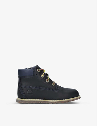 Timberland Pokey Pine leather boots 3-7 years
