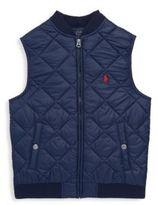 Ralph Lauren Toddler's, Little Boy's & Boy's Quilted French Vest