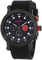 Redline Red Line Men's Compressor Red Dial Red Silicone Watch RL-18101-05-BB-RD