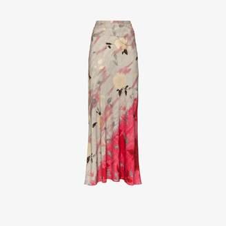 Collina Strada Yod floral embellished skirt