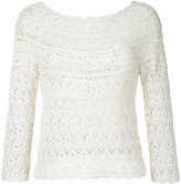 Aspesi crochet jumper - women - Cotton - 38