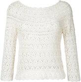 Aspesi crochet jumper - women - Cotton - 40