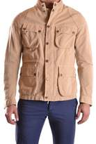 Brema Men's Beige Cotton Outerwear Jacket.