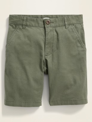 Old Navy Built-In Flex Straight Twill Shorts for Boys