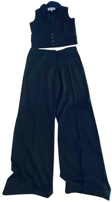 Jasmine Di Milo Black Wool Jumpsuit for Women