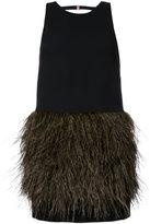 Ginger & Smart Protégé dress - women - Polyester/Viscose/Ostrich Feather - 10
