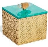Kendra Scott Square Filigree Stone Box - Blue