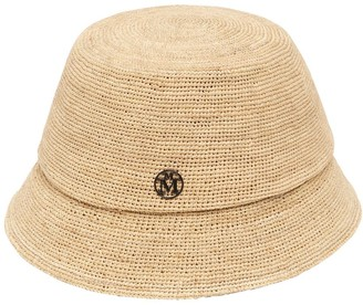 Maison Michel Suna Crocheted Raffia Hat