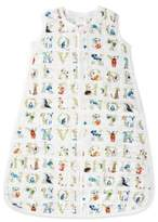 Aden Anais aden + anais® Small Paper Tales Muslin Wearable Blanket in Blue/White