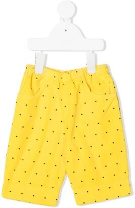 The Animals Observatory Polka Dot Shorts