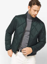 Michael Kors Packable Quilted-Nylon Down Jacket