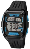Limit Active Men's Watch with LCD Dial Digital Display and Black Plastic Strap 5563.24