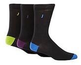 J By Jasper Conran Designer Pack Of Three Highlight Socks