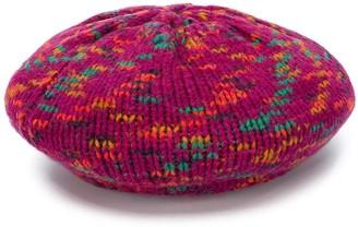 M Missoni Wool-Knit Beret