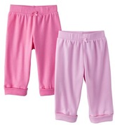 Circo Newborn Girls' 2 Pack Pant - Pink