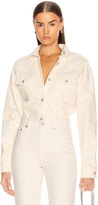 Magda Butrym Aurora Shirt in Cream | FWRD