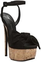Giuseppe Zanotti Design Cork platform sandal