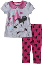 Disney 2 Piece Legging Set (Baby) - Gray Heather-24 Months