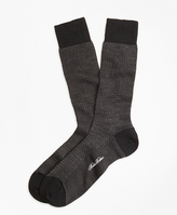Brooks Brothers Herringbone Crew Socks