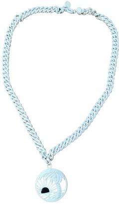Stella McCartney White Metal Necklaces
