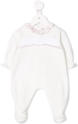 La Stupenderia Long-Sleeved Ruffled Pajamas
