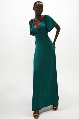 Coast Short Angel Sleeve Maxi Dress