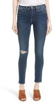 Frame Women's Le High Distressed Skinny Jeans