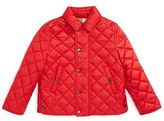 Burberry Toddler Boy's 'Luke' Quilted Jacket