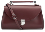 The Cambridge Satchel Company Women's Mini Poppy Shoulder Bag - Oxblood