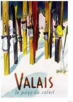 Art.com Valais, Switzerland - The Land of Sunshine Art Print By Lantern Press - 30x41 cm